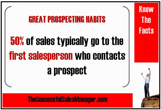 Sales Prospecting Facts & Statistics