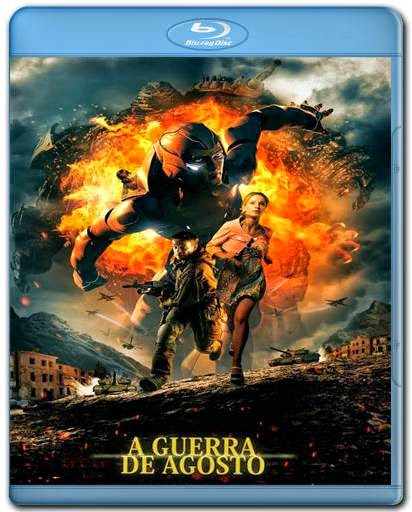 A Guerra de Agosto AVI Dual Audio BDRip