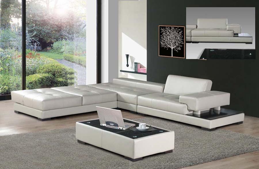 canapé moderne d'angle