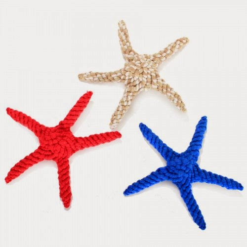 cotton rope starfish dog toy from Harry Barker