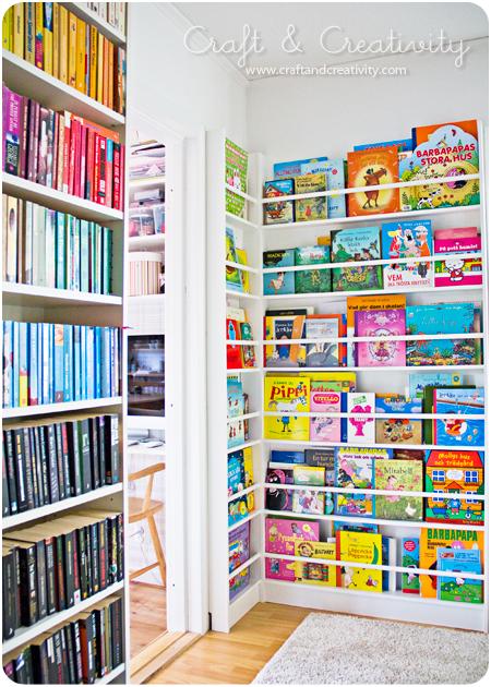 Barnrum barnrum bokhylla : Linn idag: Barn och böcker