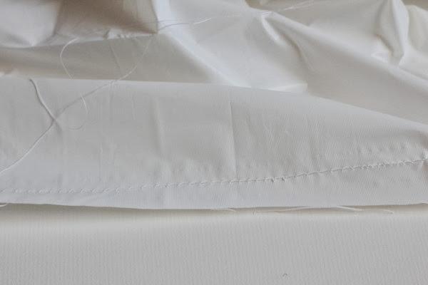 Tutorial- Ruffle Shower Curtain