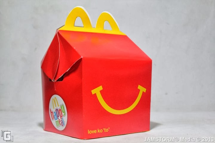 GeekMatic!: The Iconic Happy Meal Box Returns!