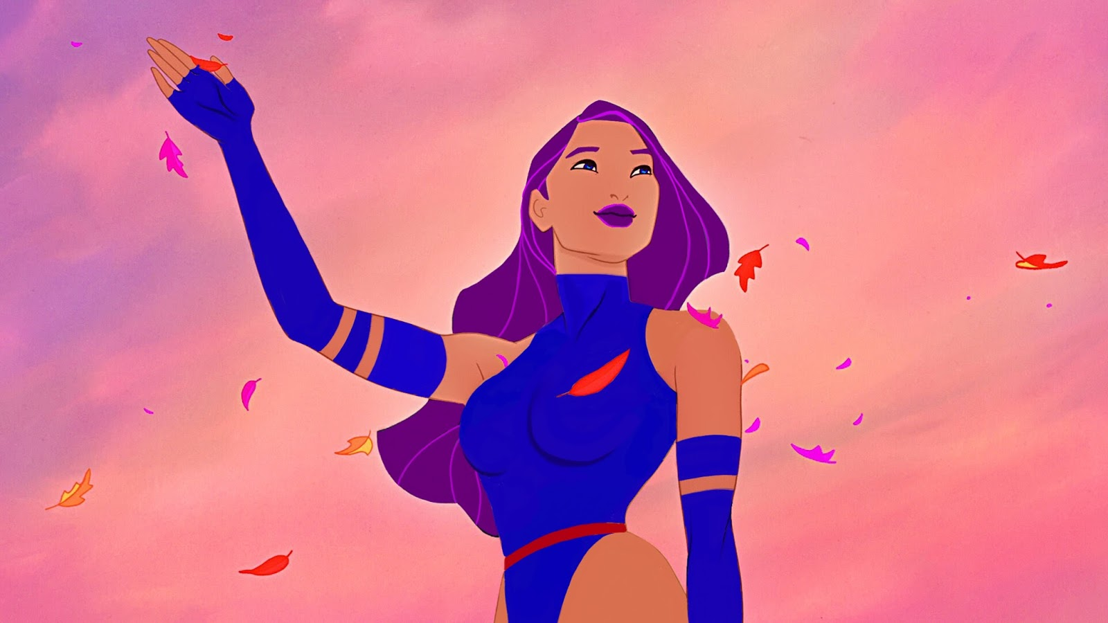 Disney Princesses as X-Men VIDEO: Turning Pocahontas into Psylocke ...