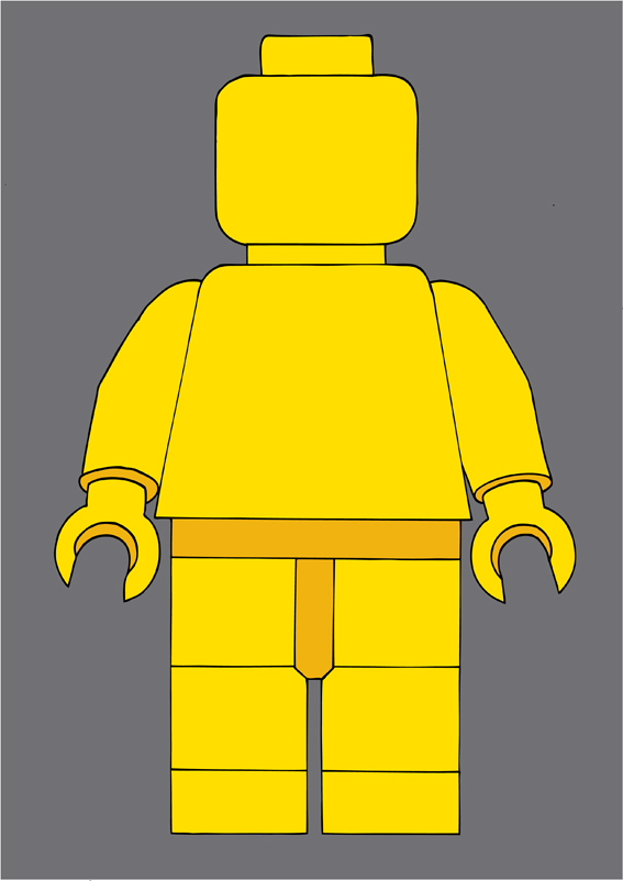 how to build a giant lego man