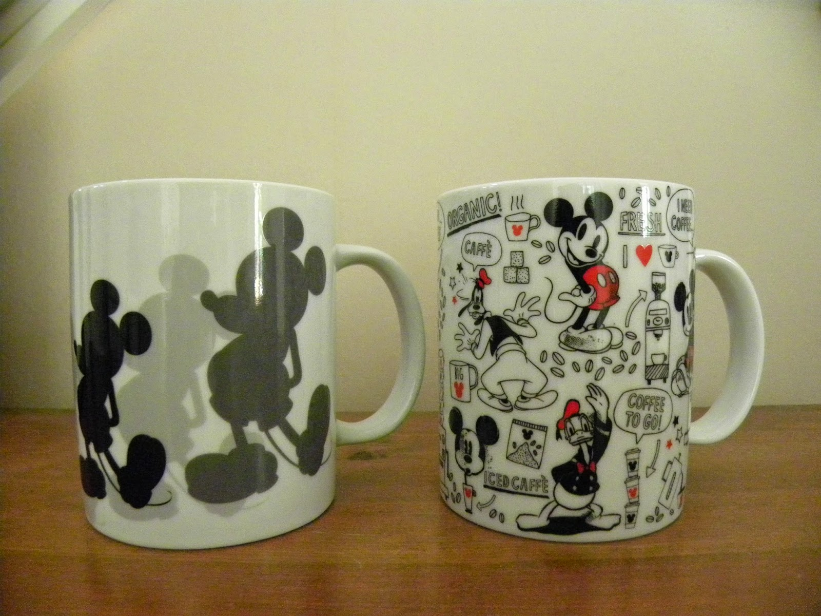 Disney Mugs Mickey Mouse
