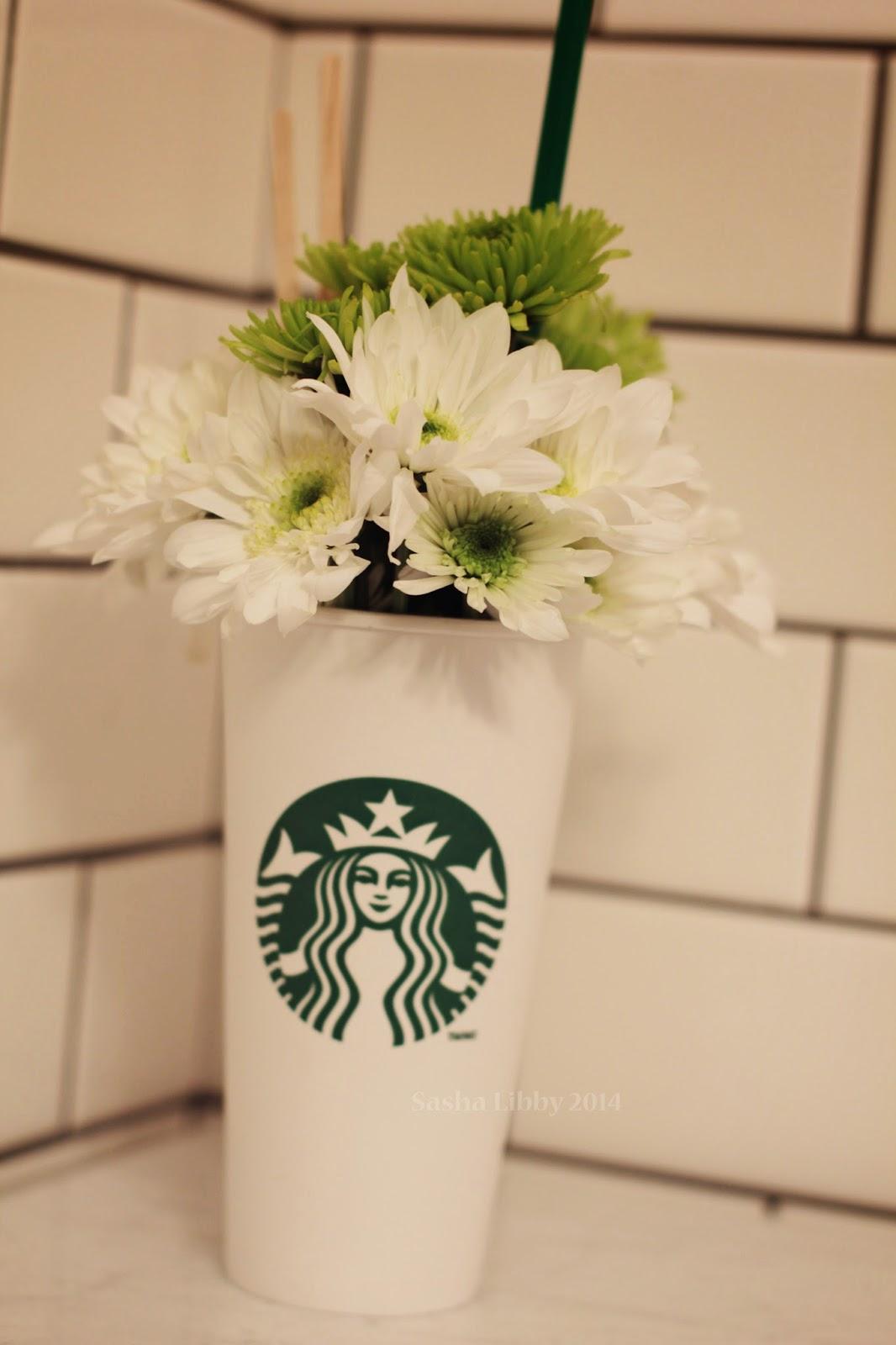 Starbucks+flower+arrangement