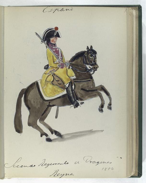 Le clbre uniforme de la garde anglaise