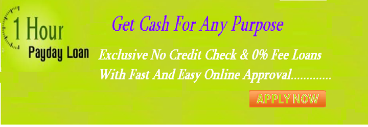One hour payday loans are solution of every cash problem.