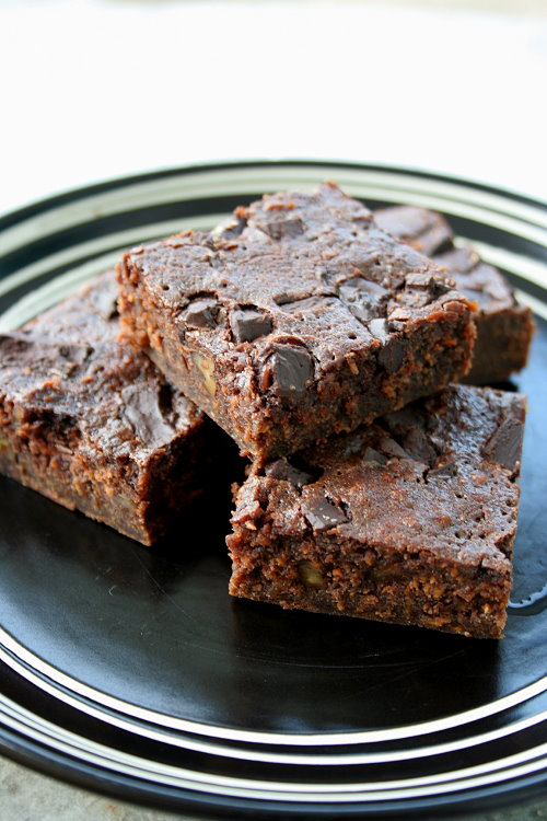 improved sweet potato brownies