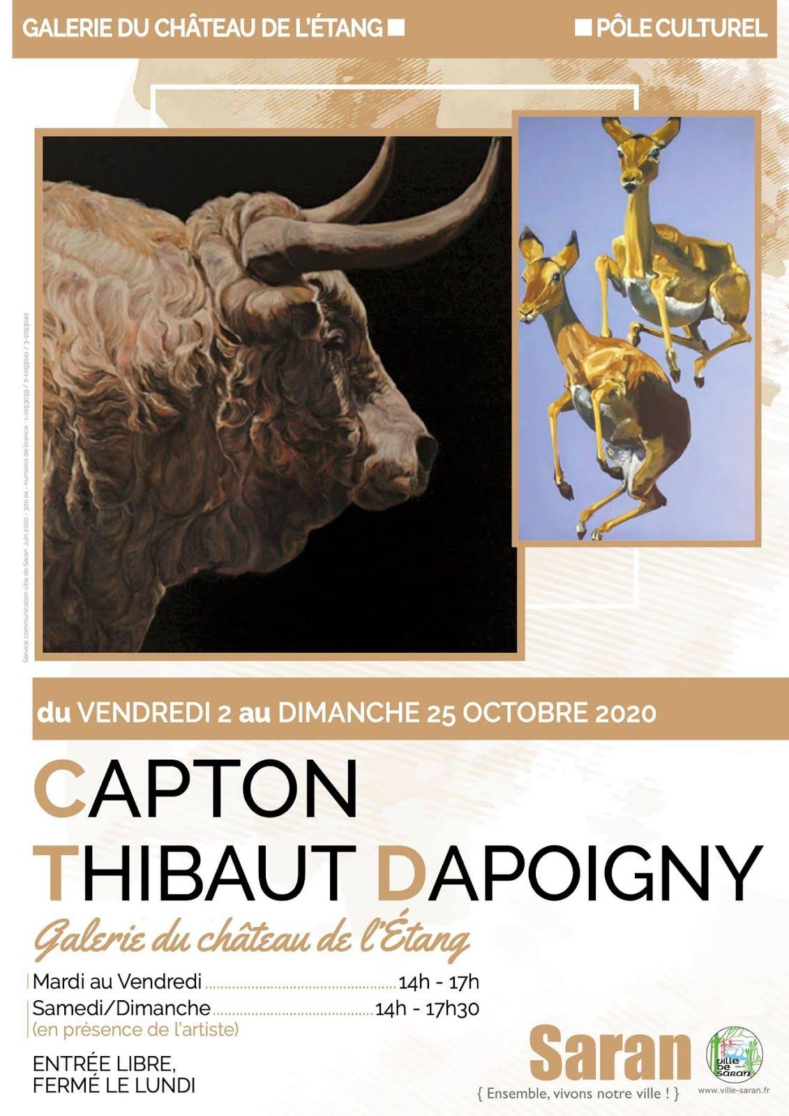 C A P T O N ET THIBAUT DAPOIGNY AU CHATEAU DE SARAN (LOIRET)