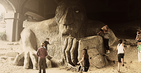 fremont troll seattle pacific northwest travel photography