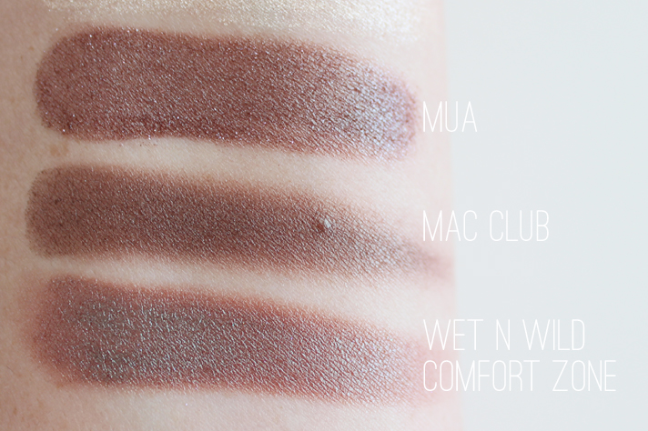 MUA [MAKEUP ACADEMY] // Baked Trio Eyeshadow in Innocence | Review + Swatches - MAC + Wet N Wild Dupes - CassandraMyee