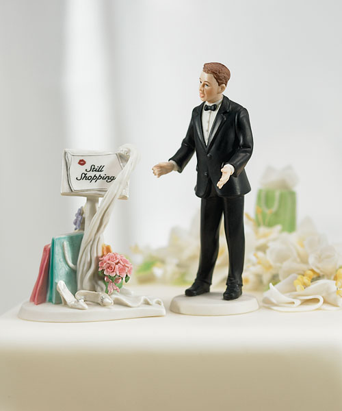 32 humorous wedding cake toppers