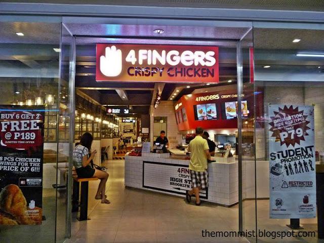 4 Fingers Manila Store facade