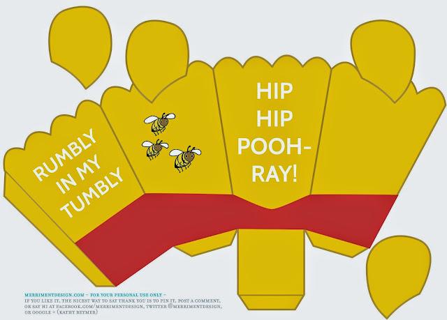 winnie the pooh free printable popcorn box