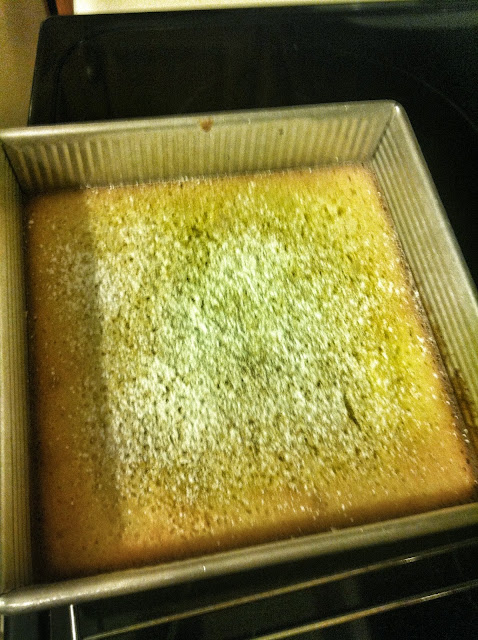 Lemon bars from Betty Crocker Mix
