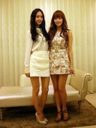 Krystal F(X) dan Jessica SNSD Bintangi Reality Show Sendiri