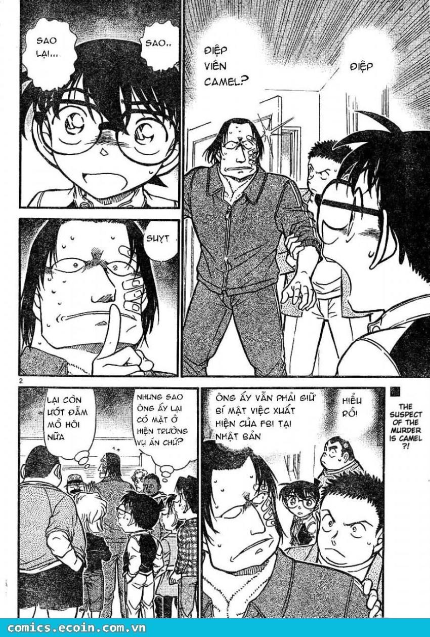 Detective Conan - Thám Tử Lừng Danh Conan chap 606 page 2 - IZTruyenTranh.com