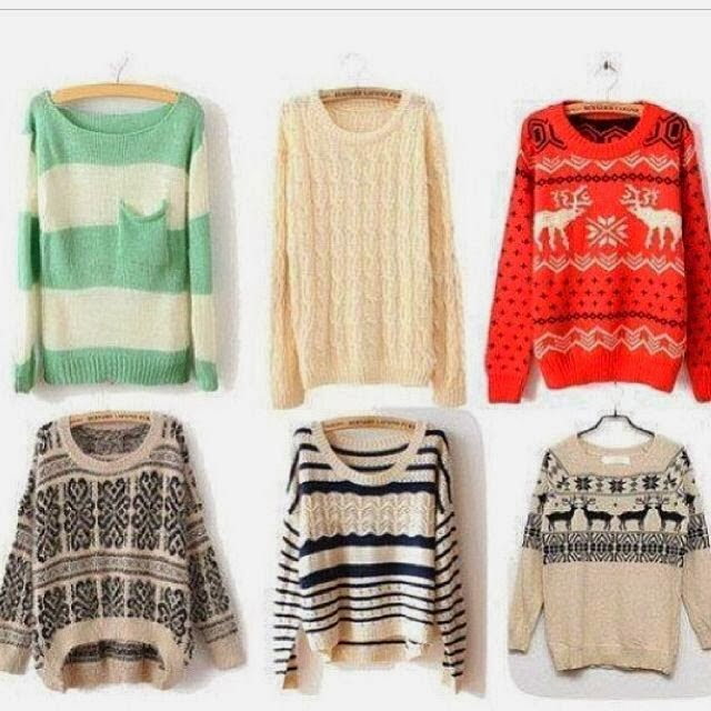 Adorable, Stylish and Colourful Sweaters Collection for the Fall and Winter Wardrobe