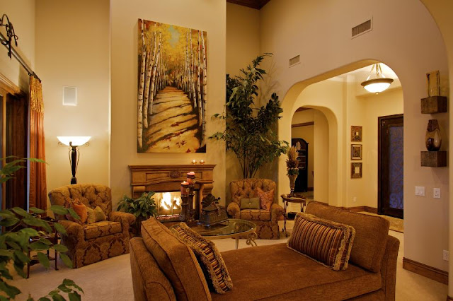 Modern Tuscan Style Interior Design Ideas