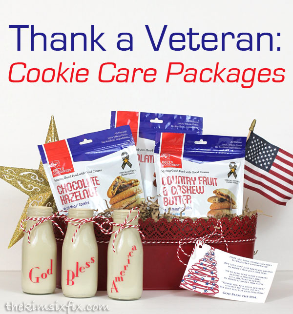 Give someone the gift of cookies while also sending cookies to a deserving veteran in their honor