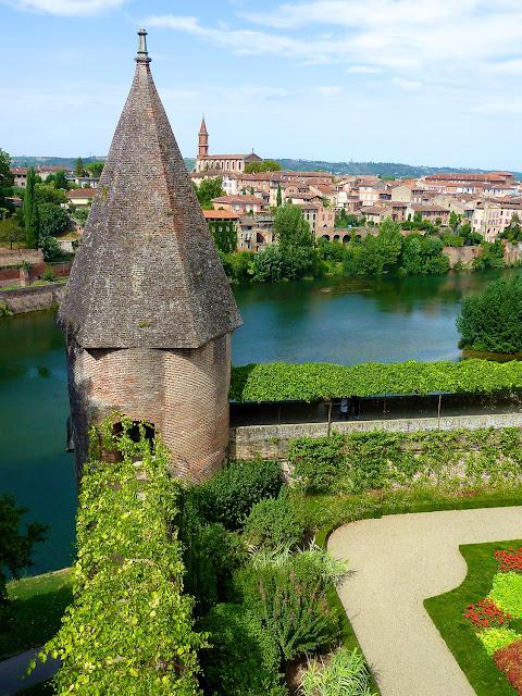 Albi vista desde los jardines del Palacio de la Berbie, el Museo Toulouse Lautrec