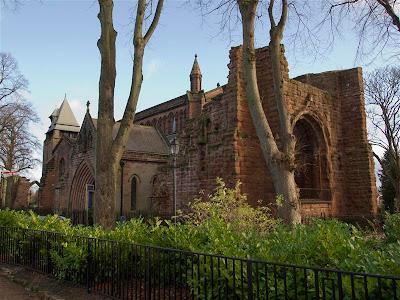 Iglesia de San Juan Bautista de Chester