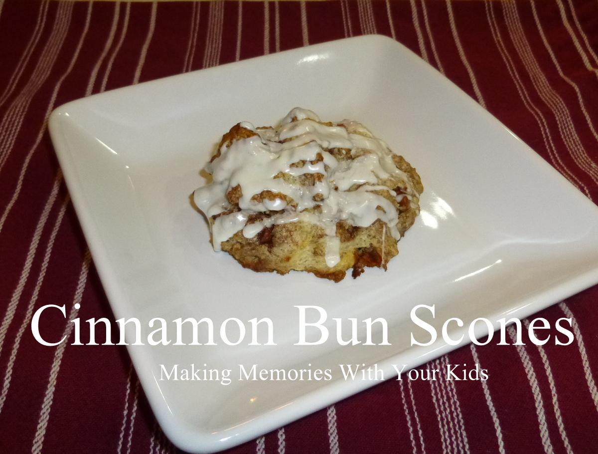 Cinnamon bun scones   Foods & Drinks   Pinterest
