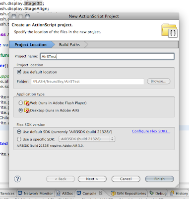 Adobe AIR SDK for Mac OS X full screenshot
