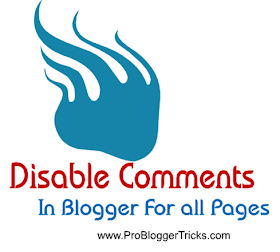 how to disable comments box in blogger