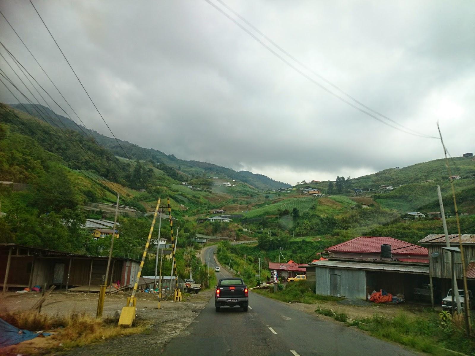 Cuti-cuti Malaysia : Kinabalu View Chalet, Mesilau Kundasang Sabah