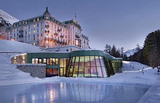 Grand Hotel Kronenhof. Pontresina (Suiza)