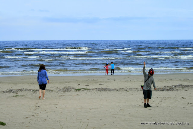 The beach, Jurmala, Latvia