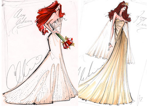 wedding dress designs sketches. fashion amp; sketches