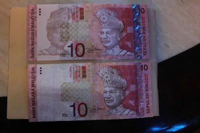 wang kertas unik