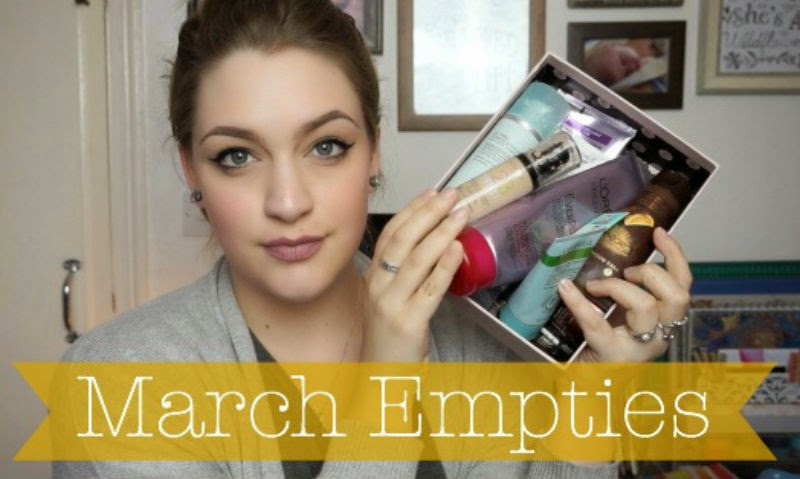 this weeks videos, march empties, grwm, birthday edition, get ready with me, videos, youtube, whenflowersfall,
