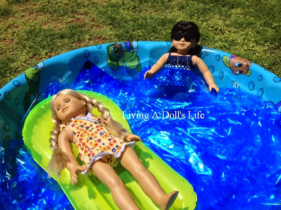 Living A Doll 39 S Life Camp Julie Ivy Go Swimming Pool Tutorial