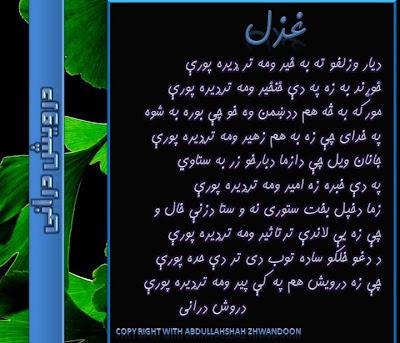 Darvesh Durani Pashto Poet