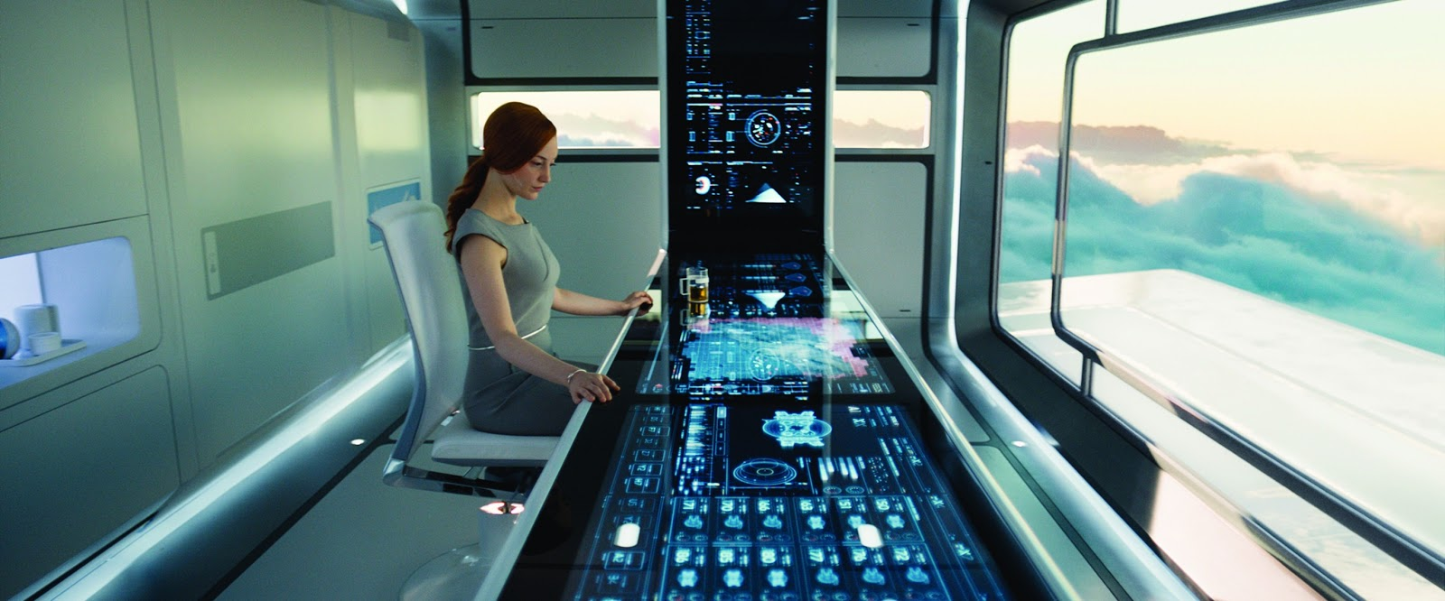 reel talk online: new images from the sci-fi film, oblivion