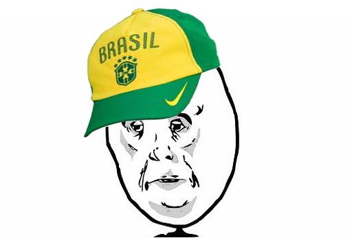 Meme Okay - Boné Brasil