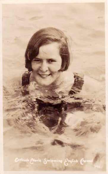 Gertrude Ederle Swimming The English Channel Alan Rock's Trivia Tea...