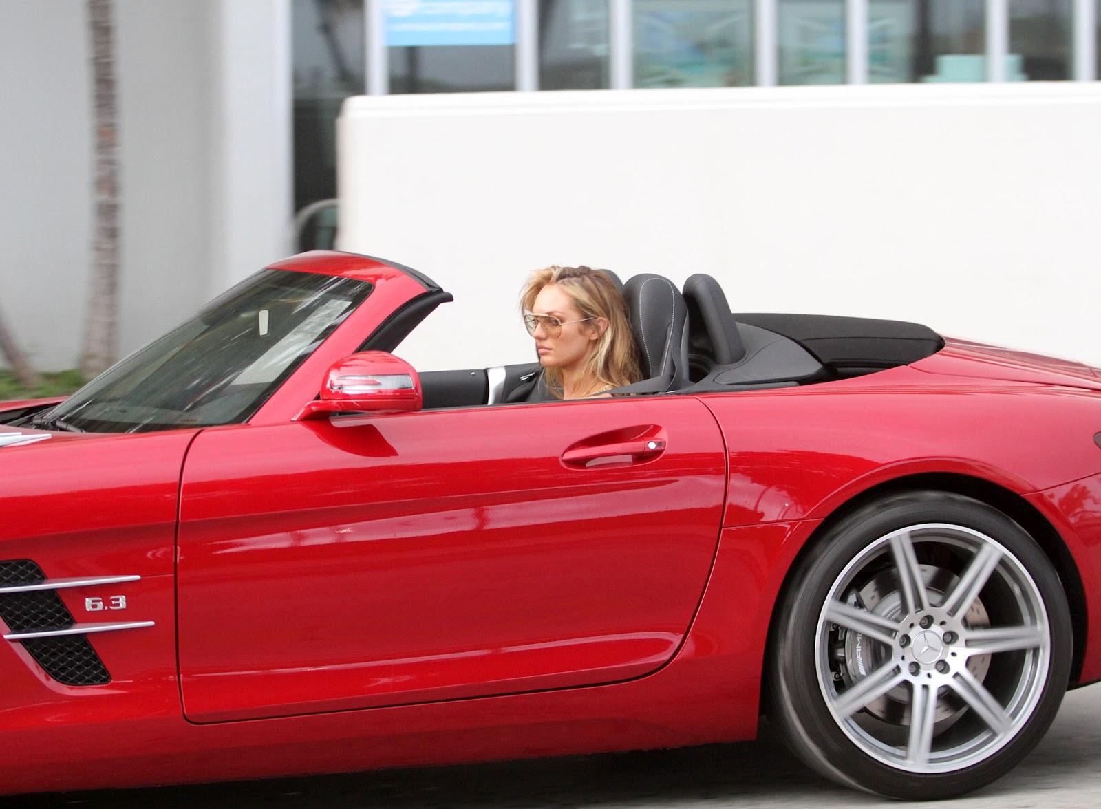 SLS car - Color: Red  // Description: sporty