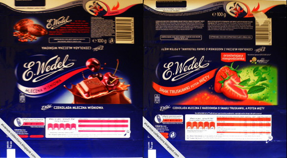 Wedel's chocolate wrappers empire | Alvaroo's Collections & Hobbies