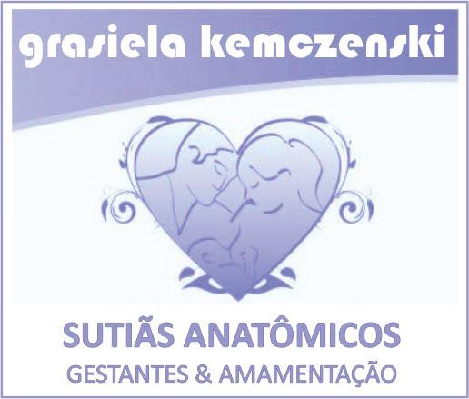 Grasiela Kemczenski é nossa apoiadora