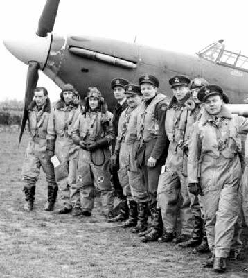 No. 71 (Eagle) Squadron Pilots