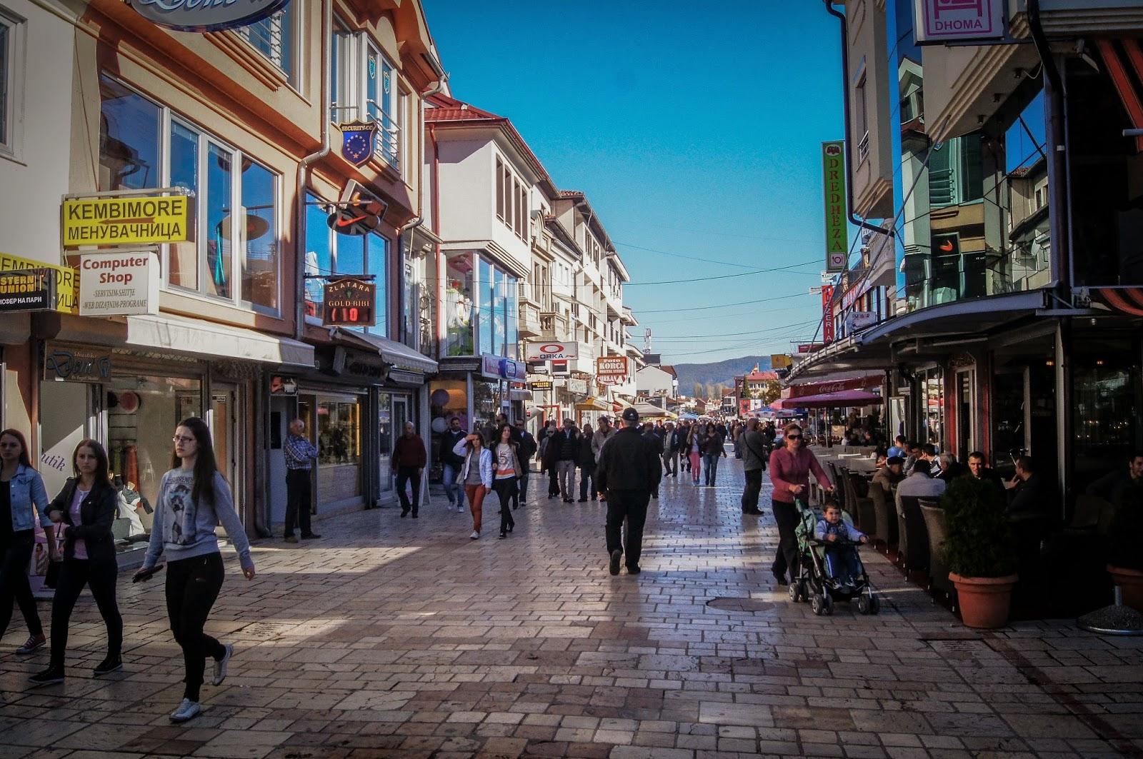 Calle principal de Struga