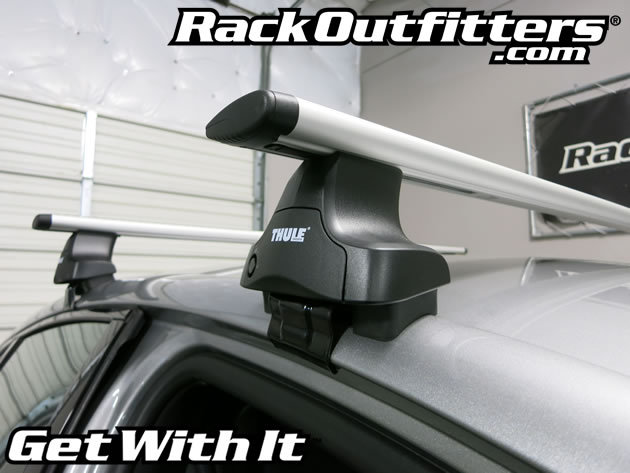 Rack Outfitters Chrysler 200 Thule Rapid Traverse Silver