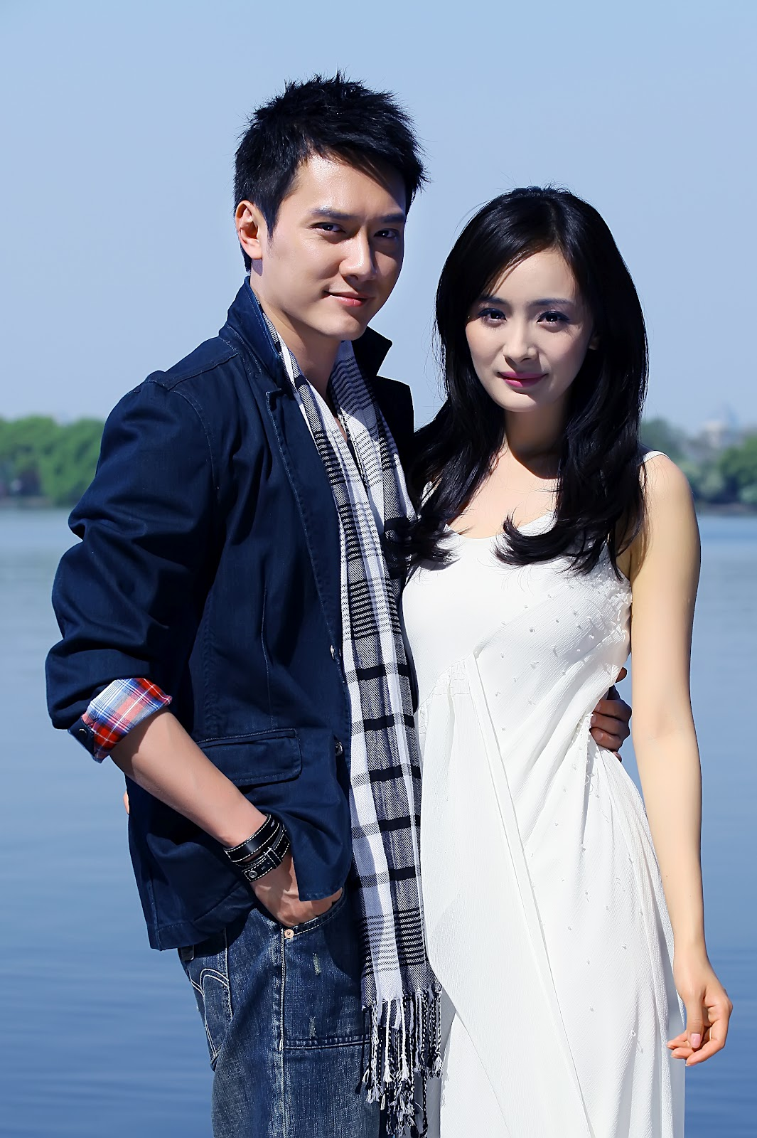 "William con Yang Mi en ""Sinfonia de Amor"""