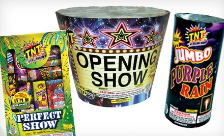 photo about Tnt Fireworks Coupons Printable called Groupon: Merely $20 For $45 at TNT Fireworks - NorCal Coupon Gal